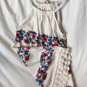 Floral Dress - 4t